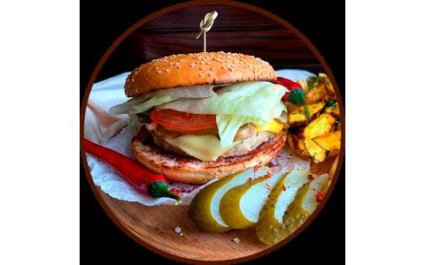 """Бургер """"Chicken"""" (350/120/50 г)"""