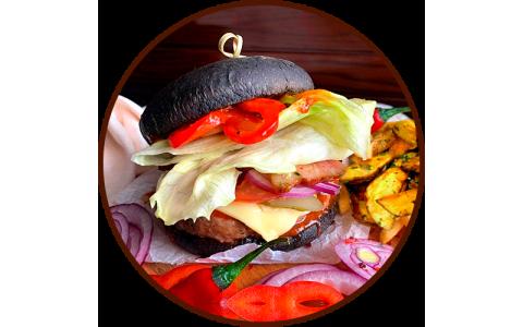 "Бургер ""Black XL"" (400/120/50 г)"