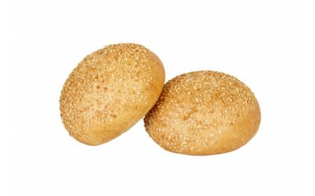 Булочки зерновые с кунжутом
