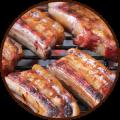Ребра из свинины 100г