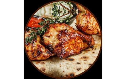 Шашлык из куриной грудки 100г