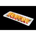 Хрустящий камамбер с ягодным соусом